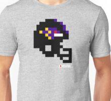 Tecmo Bowl - Baltimore - 8-bit - Mini Helmet shirt Unisex T-Shirt