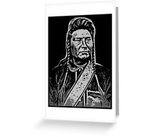 Chief Joseph (Hinmatóowyalahtq̓it)-2 Greeting Card
