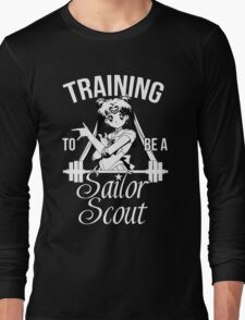 Training to be a Sailor Scout (Moon) Long Sleeve T-Shirt