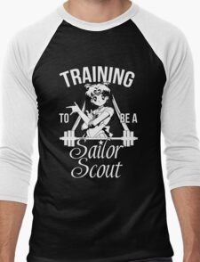 Training to be a Sailor Scout (Moon) Men's Baseball ¾ T-Shirt