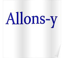 Allons-y Poster