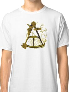 Measuring The Territory At Sea Classic T-Shirt