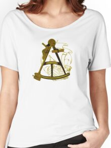 Measuring The Territory At Sea Women's Relaxed Fit T-Shirt