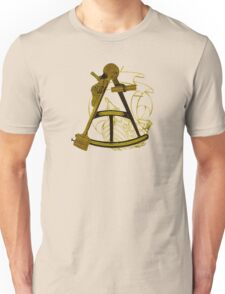 Measuring The Territory At Sea Unisex T-Shirt