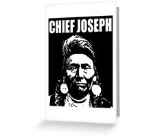 CHIEF JOSEPH-2 Greeting Card