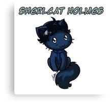 Sherlcat Holmes Canvas Print