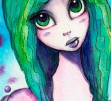 Alien girl Sticker