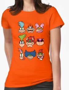 The Bowser Bunch Womens Fitted T-Shirt