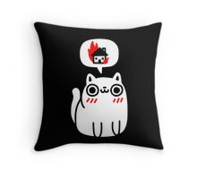 Dreaming Of Destruction Throw Pillow