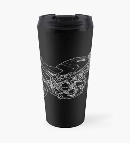 Ducati Monster, awesome gift for men Travel Mug