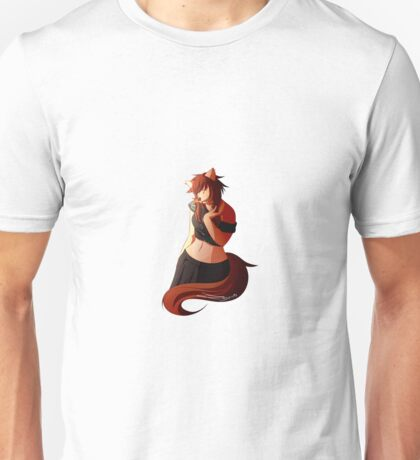 Anthro Girl Unisex T-Shirt