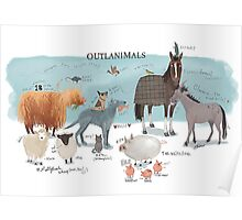 Outlanimals 3500x5000 Poster