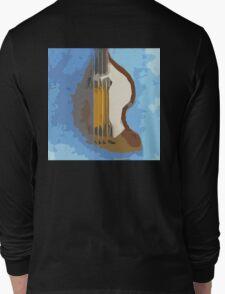 Awesome Bass, Hofner, Beatles instrument Long Sleeve T-Shirt