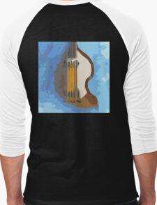 Awesome Bass, Hofner, Beatles instrument Men's Baseball ¾ T-Shirt