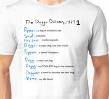 The Doggo Dictionary, Part 1:  A Smol Pupper Comic Unisex T-Shirt