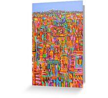 Urban emergence Greeting Card