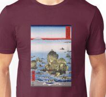 Utagawa Hiroshige Futamigaura in Ise Province Unisex T-Shirt