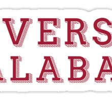 University of Alabama - DECORATIVE Sticker