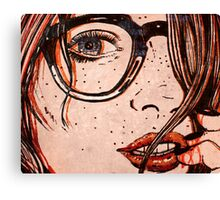 Le Regard Canvas Print