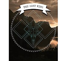The Goat King Photographic Print