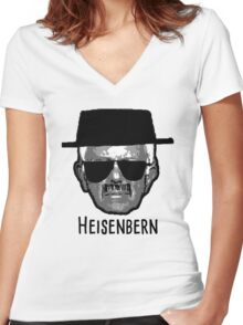 Heisenbern Women's Fitted V-Neck T-Shirt