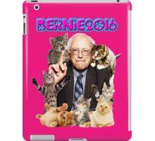 bernie with cats iPad Case/Skin