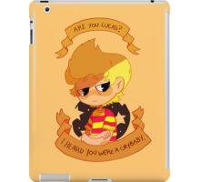 Crybaby Lucas iPad Case/Skin