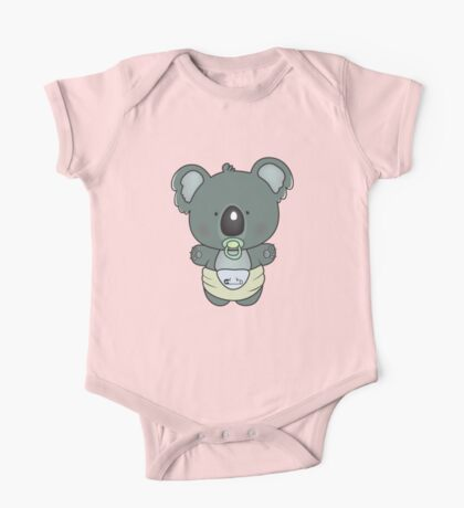 baby koala One Piece - Short Sleeve