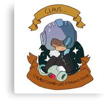 Monster Claus Canvas Print