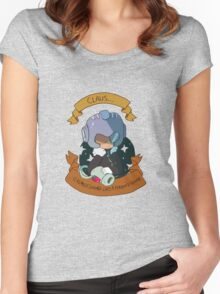 Monster Claus Women's Fitted Scoop T-Shirt