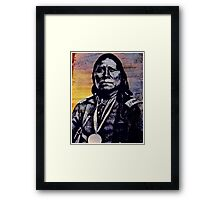 Satanta (chief) Framed Print
