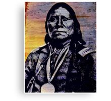 Satanta (chief) Canvas Print