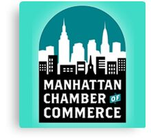 manhattan chamber of commerce logo Canvas Print