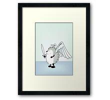 Good hedgie Framed Print