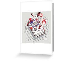 Mario - Game Boy Greeting Card