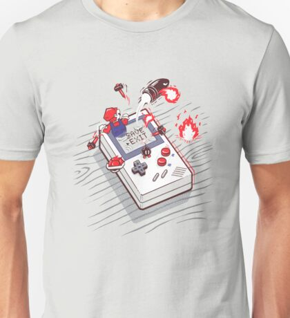 Mario - Game Boy Unisex T-Shirt