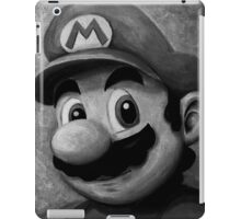 Portrait of an Italian Plumber iPad Case/Skin
