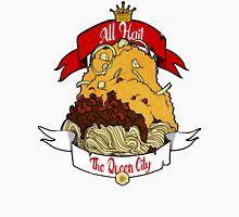 All Hail The Queen City Men's Baseball ¾ T-Shirt