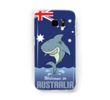 welcome to australia Samsung Galaxy Case/Skin