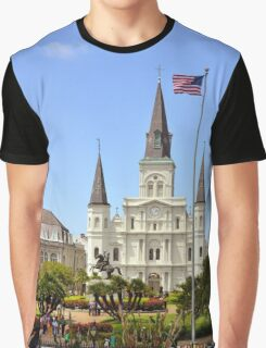 St. Louis Cathedral Graphic T-Shirt