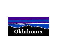 Oklahoma Midnight Mountains Photographic Print