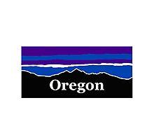Oregon Midnight Mountains Photographic Print