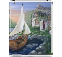Country Cottage Sail Boat iPad Case/Skin