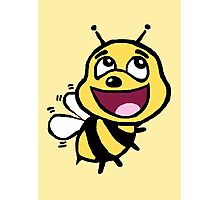 Bee Awesome Photographic Print