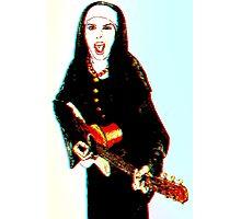 The 3D Rock'n Nun Photographic Print