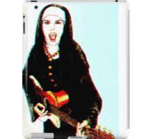 The 3D Rock'n Nun iPad Case/Skin
