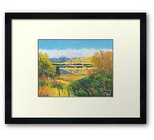 Glendhu Bay on Lake Wanaka Framed Print