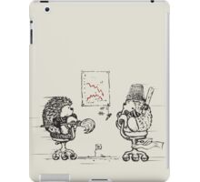 Meanwhile,at the office... iPad Case/Skin