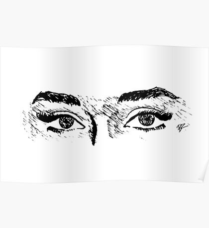 Audrey's Eyes Poster