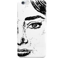Audrey's Face iPhone Case/Skin